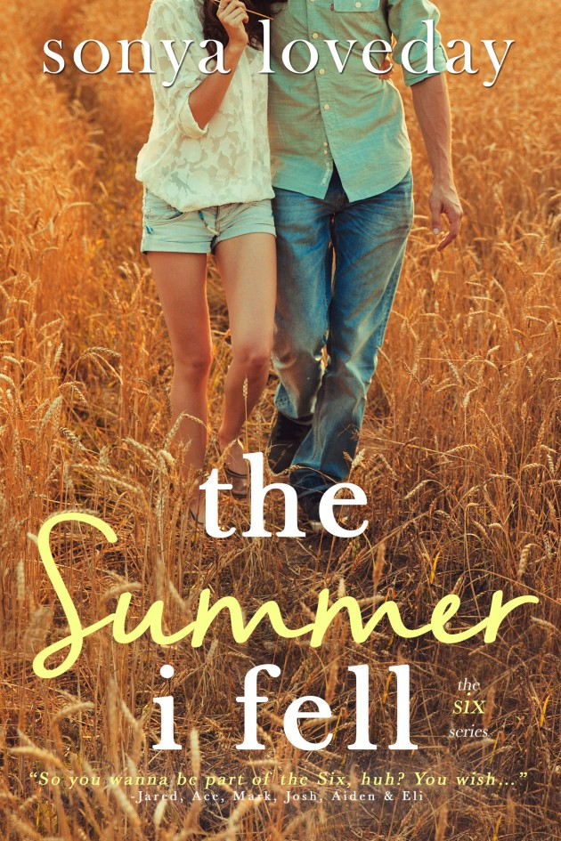 Cover Reveal: The Summer I Fell by Sonya Loveday